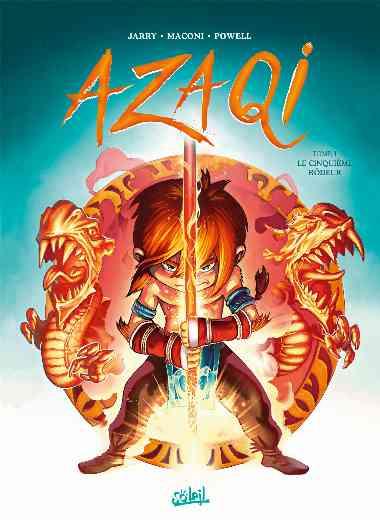 Azaqi 01 - Le Cinquiême Rôdeur